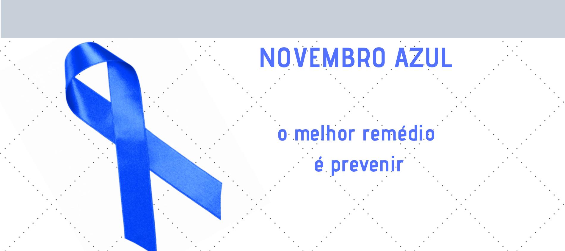 novembro azul BANHO (2